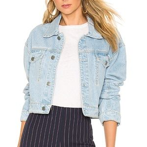 GRLFRND Denim Long Sleeve Jacket
